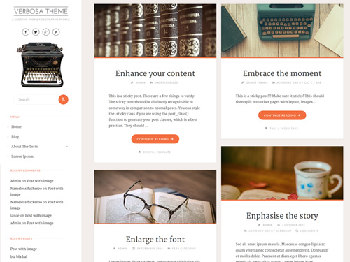Verbosa WordPress Theme