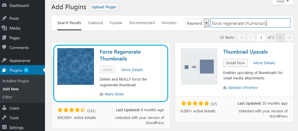 fb34de5d ... Thumbnails plugin, which can be quickly and effortlessly installed from  the repository. If you have a different favourite you can use that one, ...