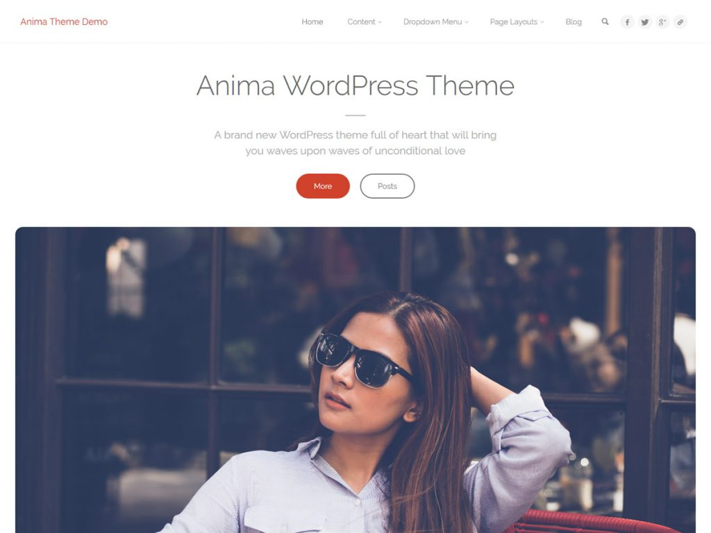 Anima Plus WordPress Theme