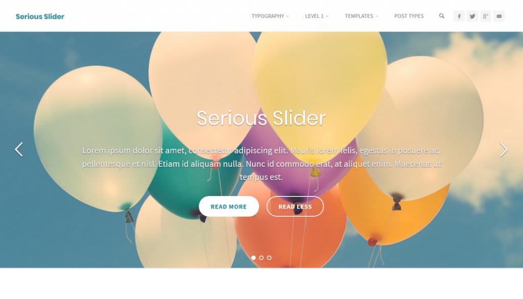 Serious Slider WordPress Plugin