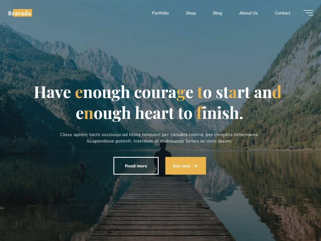 Bravada WordPress Theme